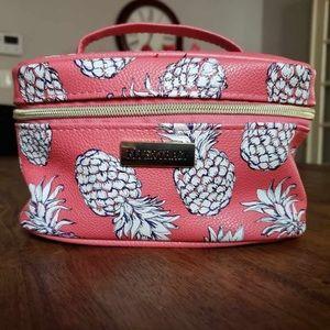 Ellen Tracy Pineapple Makeup Bag